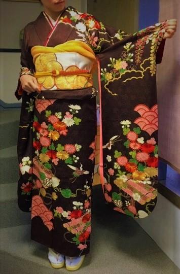 金襴手刺繍振袖 振袖レンタル 花嫁着物